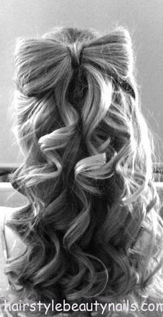 bow hairstyle beauty image photo picture (5) http://www.hairstylebeautynails.com/hairstyles/bow-hairstyle-5/