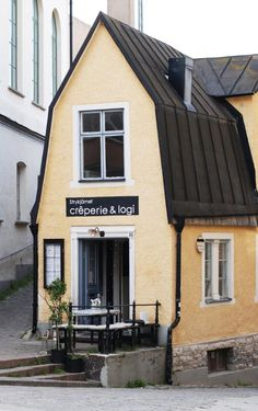 A Modern-Day Creperie in a Medieval Scandinavian City