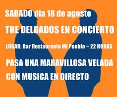 The Delgados Live at Bar Mi Pueblo