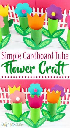 Your E-Organization - Employ An Accountant Or Do It Yourself Simple Cardboard Tube Flower Craft Kids Crafts Kid Craft Ideas Spring Crafts For Kids, Crafts For Kids To Make, Summer Crafts, Holiday Crafts, Art For Kids, Spring Activities, Craft Activities For Kids, Preschool Crafts, Fun Crafts
