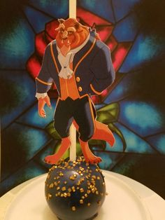 Beauty and the Beast Cake Pop #THECAKEPOPFAIRIES