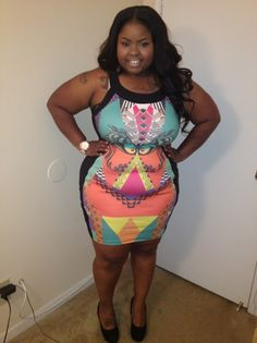 "love that dress! ""if you follow my curvy girl's spring/summer closet, make sure to follow my curvy girl's fall/winter closet."" http://pinterest.com/blessedmommyd/curvy-girls-fallwinter-closet/pins/"