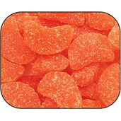 We've finally found a delicious chewy candy that does grow on trees! These Orange Slices Candy have all the yummy flavor of fresh squeezed oranges and are a beautiful treat to look at. Retro Candy, Vintage Candy, My Childhood Memories, Sweet Memories, Orange Candy, Orange Dessert, Orange Fruit, Candy Companies, Chewy Candy