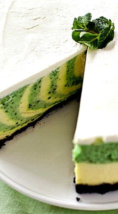 St. Patrick's Day Cheesecake ❊