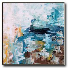 Gran textura de la pintura abstracta pintura acrílica sobre
