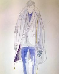 High street retailer River Island has announced its collaboration with London-based menswear label Baartmans and Siegel as part of its Design Forum initiative at London Collections: Men. The capsule collection draws inspiration from strong male protagonists in literature and cinema, from dystopian works of novelist Philip K. Dick and the dark noir of director Michael Mann