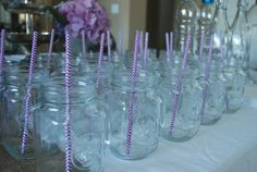 Purple #chevron straws