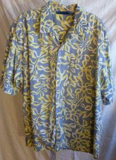 Op Ocean Pacific Reverse Print Hawaiian Shirt Size Large | eBay