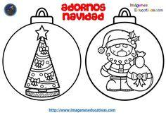 Disenos Para Colerear Bolas De Navidad Imagenes Educativas 2018 11