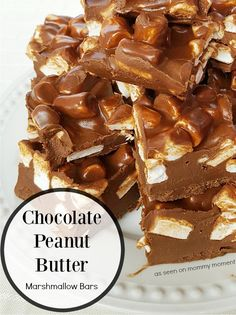 This easy NO BAKE recipe of Chocolate Peanut Butter Bars with Cinnamon Hearts has only 5 ingredients and it only takes minutes to whip up! And it's GLUTEN FREE!