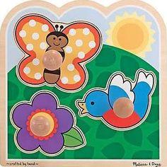 Melissa & Doug In The Garden - Jumbo Knob