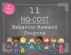 11 Behavior Reward CouponsDid someone make it to Outstanding?  Have their homework all quarter?  Well behaved for a week?  Give them a reward coupon!Here are 11 Classroom Management Behavior Reward CouponsUse these no-cost-to-you reward coupons to reward student behavior.