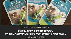 K9sOverCoffee | Little Tool, Big Impact | The Safest & Easiest Way To Remove Ticks | Tick Twister® #Giveaway