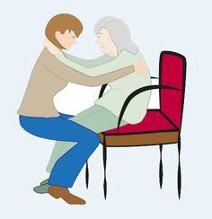 Personne âgée : les bons gestes pour l'aider à se mettre debout