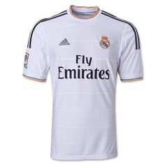 Real Madrid Home Soccer Jersey Real Madrid Team, Soccer Kits, Football Kits, Adidas Football, Football Jerseys, Soccer Teams, World Soccer Shop, Soccer Uniforms, Soccer