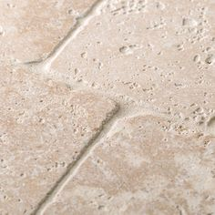 Jeffrey Court 4 in. x 4 in. Light Travertine Tumbled Wall Tile - The Home Depot Natural Stone Wall, Natural Stone Flooring, Natural Stones, Travertine Backsplash, Travertine Floors, Wall And Floor Tiles, Wall Tiles, Sanded Grout, Feature Tiles