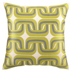 Love this Trina Turk pillow.  I'm thinking of using this in my great room.....hhmmm...