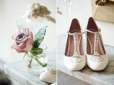 Best Of Young British Bridal Designers ~ Emmy Shoes, Belle  Vintage from head to toe...