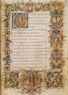 Manuscritos iluminados de obras del poeta italiano Francesco Petrarca-5