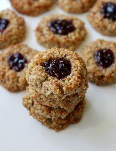 Vegan GF Thumbprint Cookies