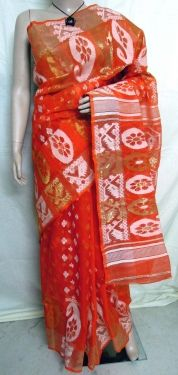 New collection of Handloom Jamdani Saree at banglarsare.com