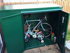 Thanks to Dan for sending in this picture of his Asgard shed. These sheds provide great storage for adult and children's bikes. - http://ift.tt/1HQJd81