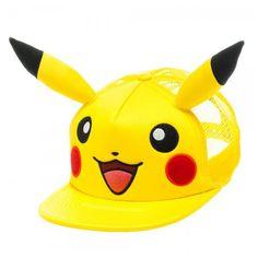 7c330c4942e Pokemon Pikachu Big Face Trucker Hat - Entertainment Earth