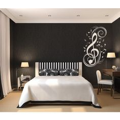 Musical Notes Music Wall Stickers Wall Art