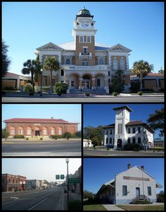 Live Oak, Florida ~ Suwannee County Courthouse, Old Post Office, Historic Live Oak City Hall, Downtown Live Oak, ACL Freight Station