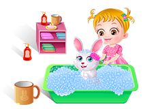 Whoopie!!! Wanna know what Baby Hazel does with her new fond pet, honey the Bunny? Play Baby hazel Pet Care game on babyhazelgames.com at http://www.babyhazelgames.com/games/baby-hazel-pet-care.html