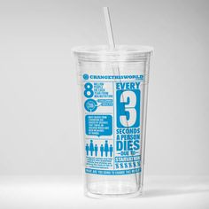 Change This World water bottle