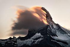 Burning Peak - Matterhorn, Switzerland
