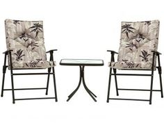 Conjunto de Mesa com 2 Cadeiras Kairos - Mor