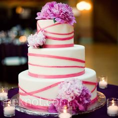 Like this cake  - in purple!