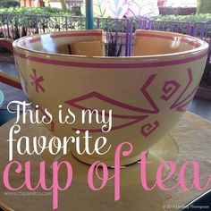 This is my favorite cup of tea.