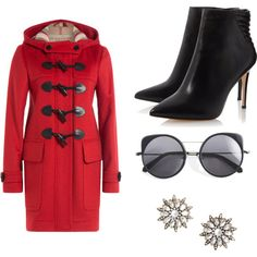 cool by alpa-jhala on Polyvore featuring polyvore fashion style Burberry Wood Wood