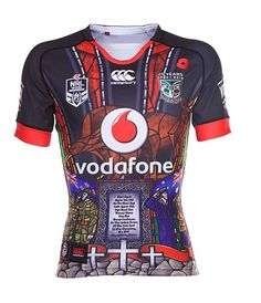 Shop here for NZ Auckland Warriors NRL Rugby League Jerseys and shorts - NZ  Warriors 2015 Anzac Commemorative Jersey beec53f57