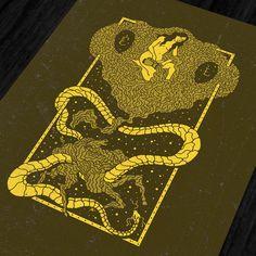 Various mystical illustrations on Behance