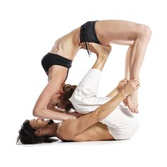 AcroYoga poses that will help build a stronger relationship with your significant other :)  #TheYogaBox #AcroYoga