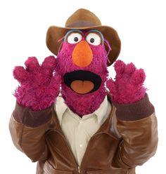 Tully Monster, Sesame Street Muppet