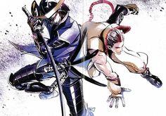 Tags: Anime, Sengoku Basara, Date Masamune (Sengoku Basara), Capcom, Tokugawa Ieyasu (Sengoku Basara), Tsuchibayashi Makoto