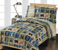 Organic Cotton bedding Earth Day promotion (Woodland Creatures)  CHF Industries
