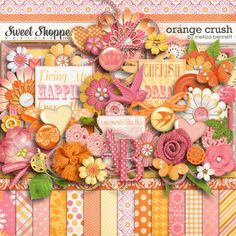 Orange Crush by Melissa Bennett. $7.99