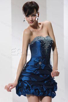 Elegant Strapless Mini/Short-length Homecoming/Prom Dress Homecoming Dresses 2014- ericdress.com 10469428