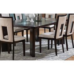 Greyson Living Domino 6.5-foot Espresso Dining Table