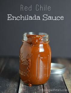 Red Chile Enchilada Sauce - Cooking With Curls