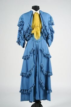 "Costume from ""Meet Me in St. Louis"", designed by Irene Schariff in 1943."