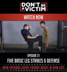 Video: Five Basic Leg Strikes & Defense | Survival Skills And Emergency Preparedness Ideas by Gun Carrier at http://guncarrier.com/video-five-basic-leg-strikes-defense/