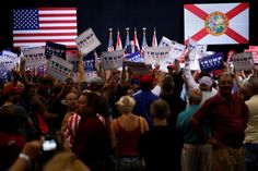 Donald Trump speaks at a campaign rally in Tampa, Fla., on Aug. 24. (Carlo Allegri/Reuters) At a campaign rally in Tampa on Wednesday, Donald Trump returned to one of his favorite topics of conversation, polling. He hasn't been talking about his good poll numbers much recently because his poll numbers haven't been very good. But...  #Trump #Clinton #Stein #DonaldTrump #HillaryClinton #JillStein #Politics #Political #Republican #Democrat #GreenParty