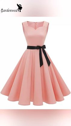 Vintage inspired style in blush color, it's your style? Simple Party Dress, Simple Cocktail Dress, High Low Cocktail Dress, Cute Dresses For Party, Simple Dresses, Pretty Dresses, Beautiful Dresses, Cocktail Dresses, Dresses For Birthday